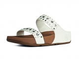 Fitflop Mujer Biker Chic Urban White